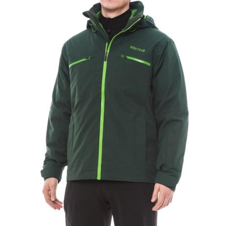 Marmot KT Component Ski Jacket - 3-in-1, Waterproof, Insulated (For Men) in Dark Spruce