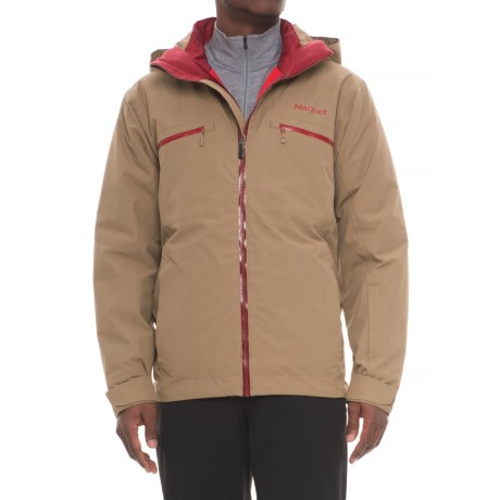 Marmot KT Component Ski Jacket - 3-in-1, Waterproof, Insulated (For Men) in Desert Khaki