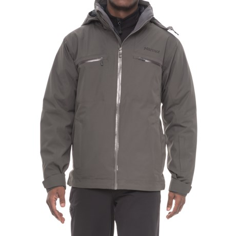Marmot KT Component Ski Jacket - 3-in-1, Waterproof, Insulated (For Men) in Slate Grey