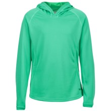 Marmot Kylie Hoodie - UPF 30 (For Girls) in Crystal Green - Closeouts