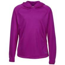 Marmot Kylie Hoodie - UPF 30 (For Little and Big Girls) in Vibrant Fuchsia - Closeouts