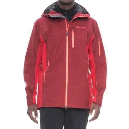 Marmot La Meije Gore-Tex® Jacket - Waterproof (For Men) in Brick/Team Red - Closeouts