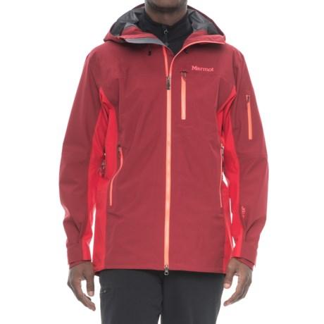 Marmot La Meije Gore-Tex® Jacket - Waterproof (For Men) in Brick/Team Red