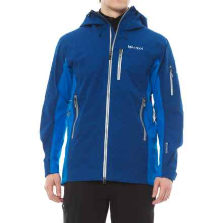 Marmot La Meije Gore-Tex® Jacket - Waterproof (For Men) in Dark Cerulean/Clear Blue - Closeouts
