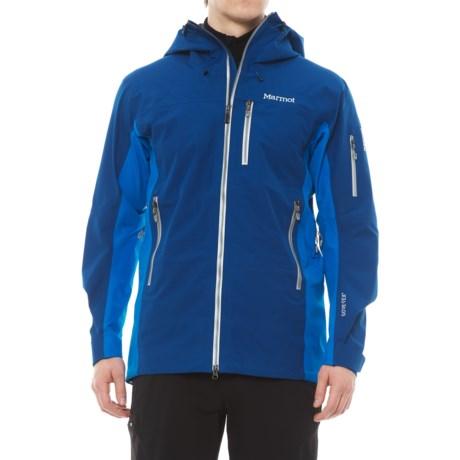 Marmot La Meije Gore-Tex® Jacket - Waterproof (For Men) in Dark Cerulean/Clear Blue