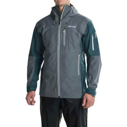Marmot La Meije Gore-Tex® Jacket - Waterproof (For Men) in Steel Onyx/Denim - Closeouts