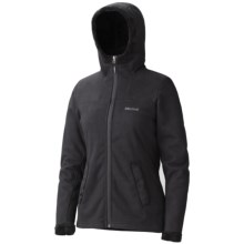 Marmot Lakeside Hoodie Sweatshirt - Fleece (For Women) in Black - Closeouts