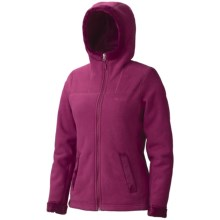 Marmot Lakeside Hoodie Sweatshirt - Fleece (For Women) in Dark Rose - Closeouts