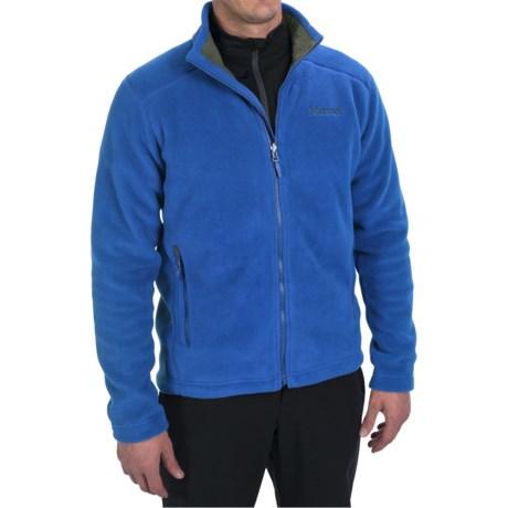 Marmot Lander Jacket - Polartec® Fleece (For Men) in Bright Navy