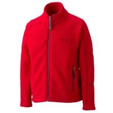Marmot Lassen Fleece Jacket - Full Zip (For Boys) in Team Red - Closeouts