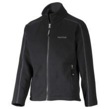 Marmot Lassen Fleece Jacket - Zip Front (For Girls) in Black - Closeouts