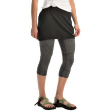 Marmot Lateral Capris Skirt - UPF 30 (For Women) in Black - Closeouts