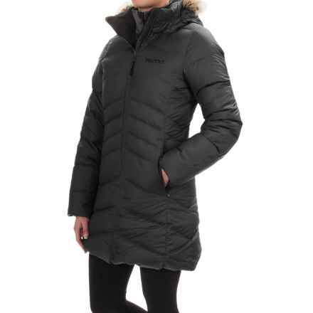 Marmot Laura Down Coat - 700 Fill Power (For Women) in Black - Closeouts