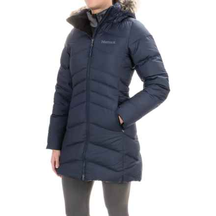 Marmot Laura Down Coat - 700 Fill Power (For Women) in Midnight Navy - Closeouts