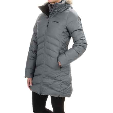 Marmot Laura Down Coat - 700 Fill Power (For Women) in Steel Onyx - Closeouts