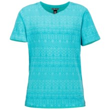 Marmot Lauren T-Shirt - UPF 30, Short Sleeve (For Little and Big Girls) in Light Aqua - Closeouts