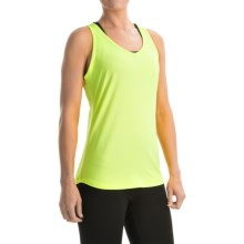 Marmot Layer Up Racerback Tank Top - UPF 30 (For Women) in Hyper Yellow Heather - Closeouts
