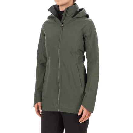 Marmot Lea Jacket - Waterproof (For Women) in Beetle Green - Closeouts