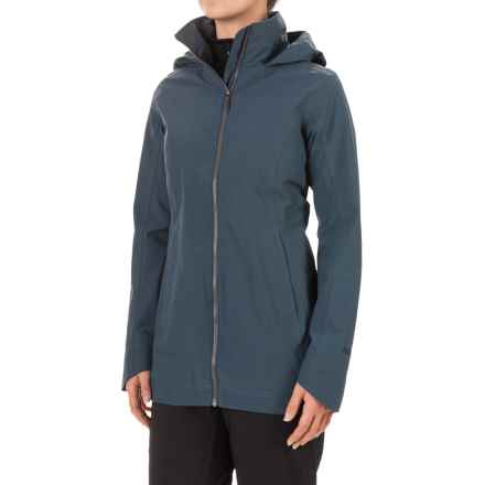 Marmot Lea Jacket - Waterproof (For Women) in Harbor Blue - Closeouts