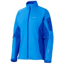 Marmot Leadville Jacket - Windstopper® (For Women) in Blue Bay/Gem Blue - Closeouts