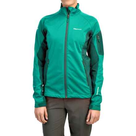Marmot Leadville Jacket - Windstopper® (For Women) in Green Garnet/Gator - Closeouts