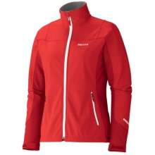 Marmot Leadville Jacket - Windstopper®, Soft Shell (For Women) in Rocket Red/Team Red - Closeouts