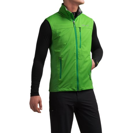 Marmot Leadville Soft Shell Gore-Tex® Vest - Waterproof (For Men) in Kale Green