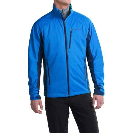 Marmot Leadville Soft Shell Jacket - Windstopper® (For Men) in Cobalt Blue/Dark Ink - Closeouts
