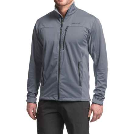 Marmot Leadville Soft Shell Jacket - Windstopper® (For Men) in Steel Onyx - Closeouts