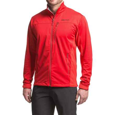 Marmot Leadville Soft Shell Jacket - Windstopper® (For Men) in Team Red - Closeouts