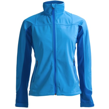 Marmot Leadville  Soft Shell Jacket - Windstopper® (For Women) in Blue Ice