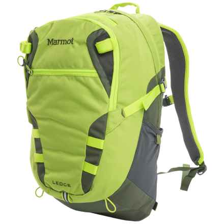 Marmot Ledge Backpack in Green Lichen - Closeouts