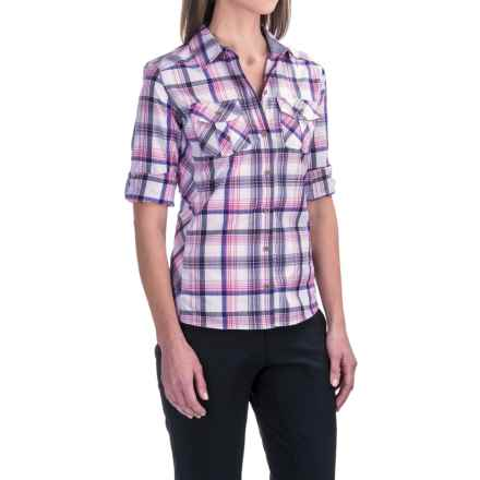 Marmot Lillian Shirt - UPF 30, Long Sleeve in Arctic Navy - Closeouts