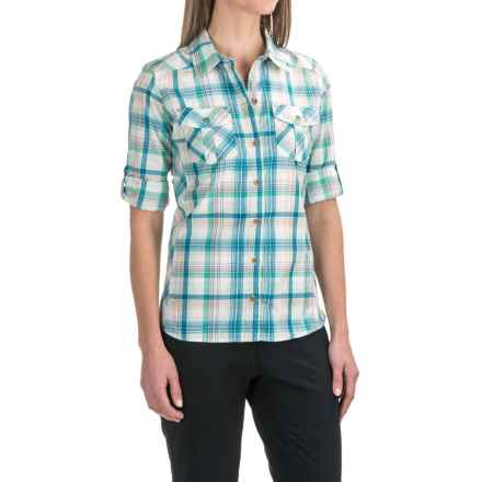 Marmot Lillian Shirt - UPF 30, Long Sleeve in Crystal Green - Closeouts