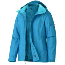 Marmot Lindsey Component Jacket - Waterproof, 3-in-1 (For Women) in Blue Sea - Closeouts