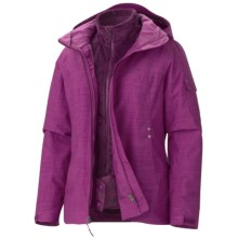 Marmot Lindsey Component Jacket - Waterproof, 3-in-1 (For Women) in Lipstick - Closeouts