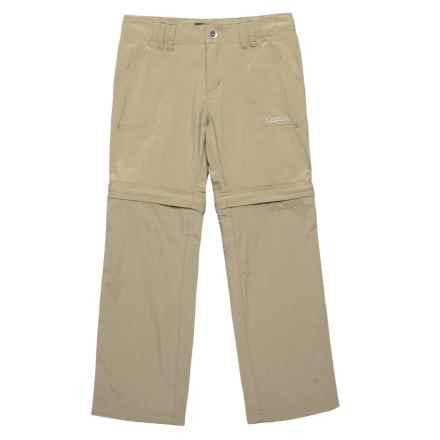 Marmot Lobos Convertible Pants - UPF 30 (For Little and Big Girls) in Desert Khaki - Closeouts