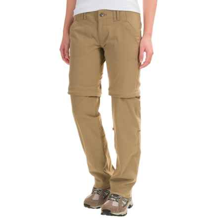 Marmot Lobos Convertible Pants - UPF 50 (For Women) in Desert Khaki - Closeouts