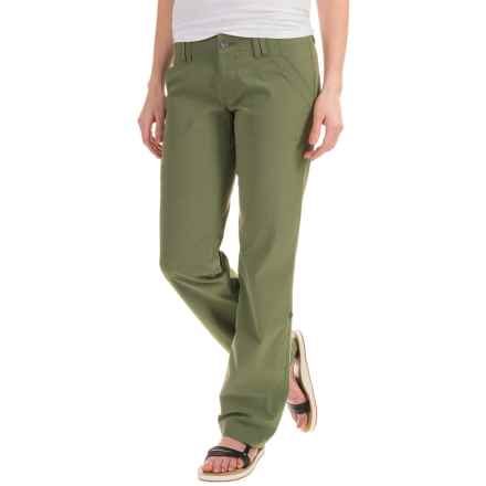 Marmot Lobo's Convertible Pants - UPF 50 (For Women) in Stone Green - Closeouts