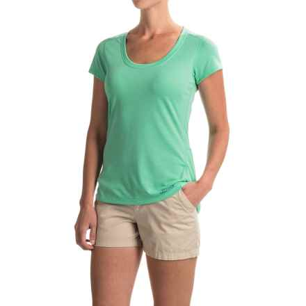 Marmot Logan T-Shirt - UPF 30, Short Sleeve (For Women) in Celtic - Closeouts