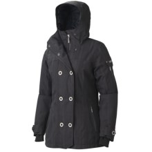 Marmot Lone Tree Ski Jacket - Waterproof, Insulated (For Women) in Black - Closeouts