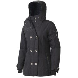 Marmot Lone Tree Ski Jacket - Waterproof, Insulated (For Women) in Black