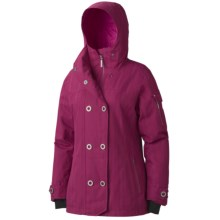 Marmot Lone Tree Ski Jacket - Waterproof, Insulated (For Women) in Dark Rose - Closeouts
