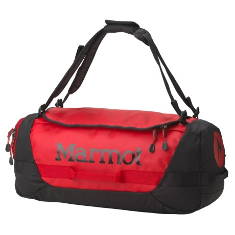 Marmot Long Hauler 50L Duffel Bag - Medium in Team Red/Black
