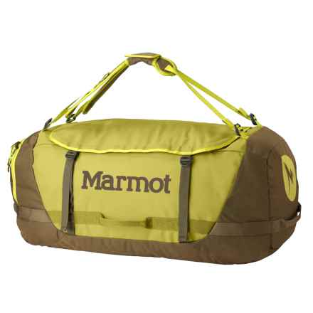 Marmot Long Hauler Duffel Bag - Extra Large in Dark Citron/Dark Olive - Closeouts