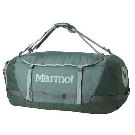 Marmot Long Hauler Duffel Bag - Extra Large in Dark Mineral/Dark Zinc - Closeouts