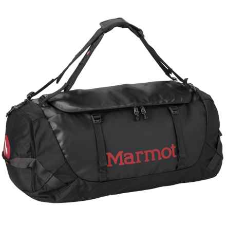 Marmot Long Hauler Duffel Bag- Large in Black - Closeouts