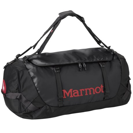 Marmot Long Hauler Duffel Bag- Large in Black