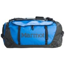 Marmot Long Hauler Duffel Bag- Large in Cobalt Blue - Closeouts