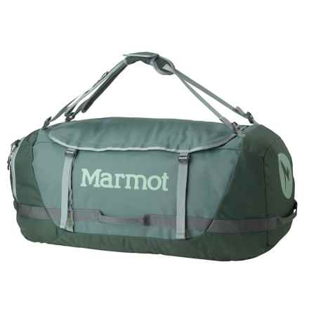 Marmot Long Hauler Duffel Bag- Large in Dark Mineral/Dark Zinc - Closeouts